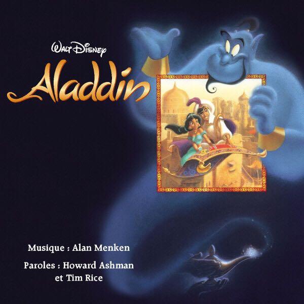 Aladdin - Arcade cover