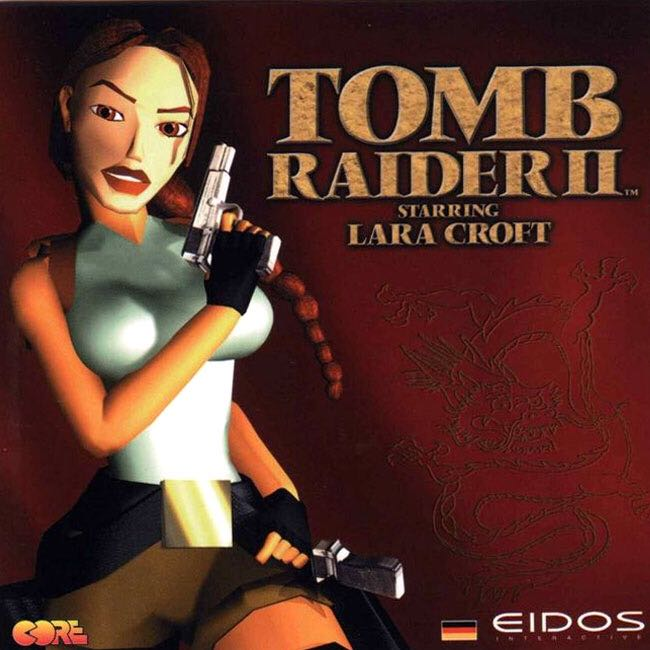 Tomb Raider 2 - GOG cover