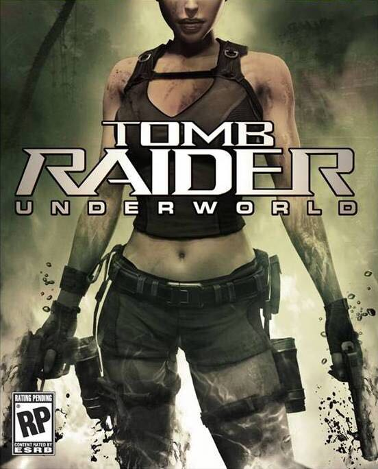 Tomb Raider: Underworld - Mac OS cover