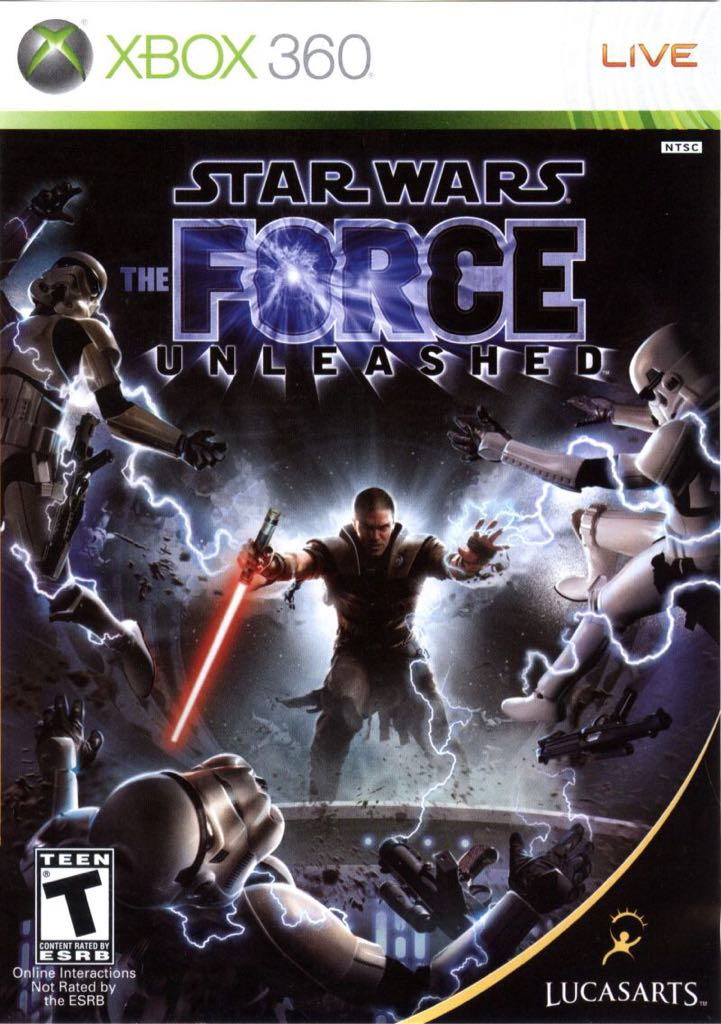 Star Wars: The Force Unleashed - Xbox Live cover