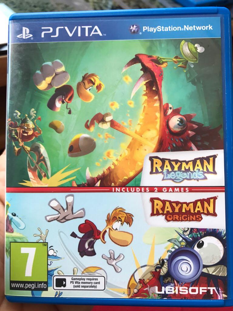 Rayman - PS Vita cover