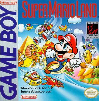 Super Mario Land - 3DS Virtual Console cover