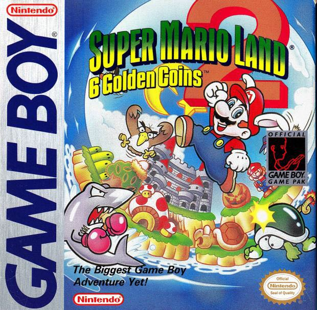 Super Mario Land 2: 6 Golden Coins - 3DS Virtual Console cover