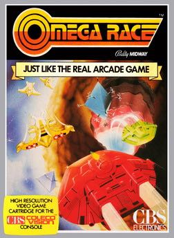 Omega Race - Arcade cover