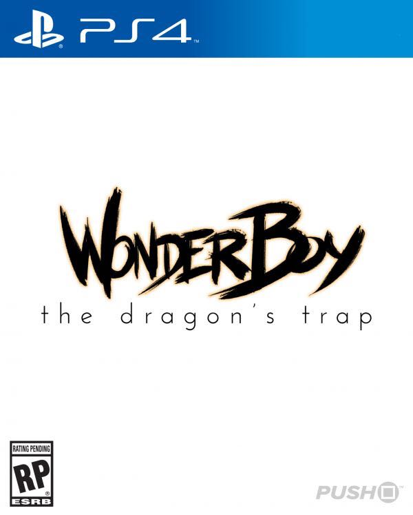 Wonder Boy 3 - PS4 cover