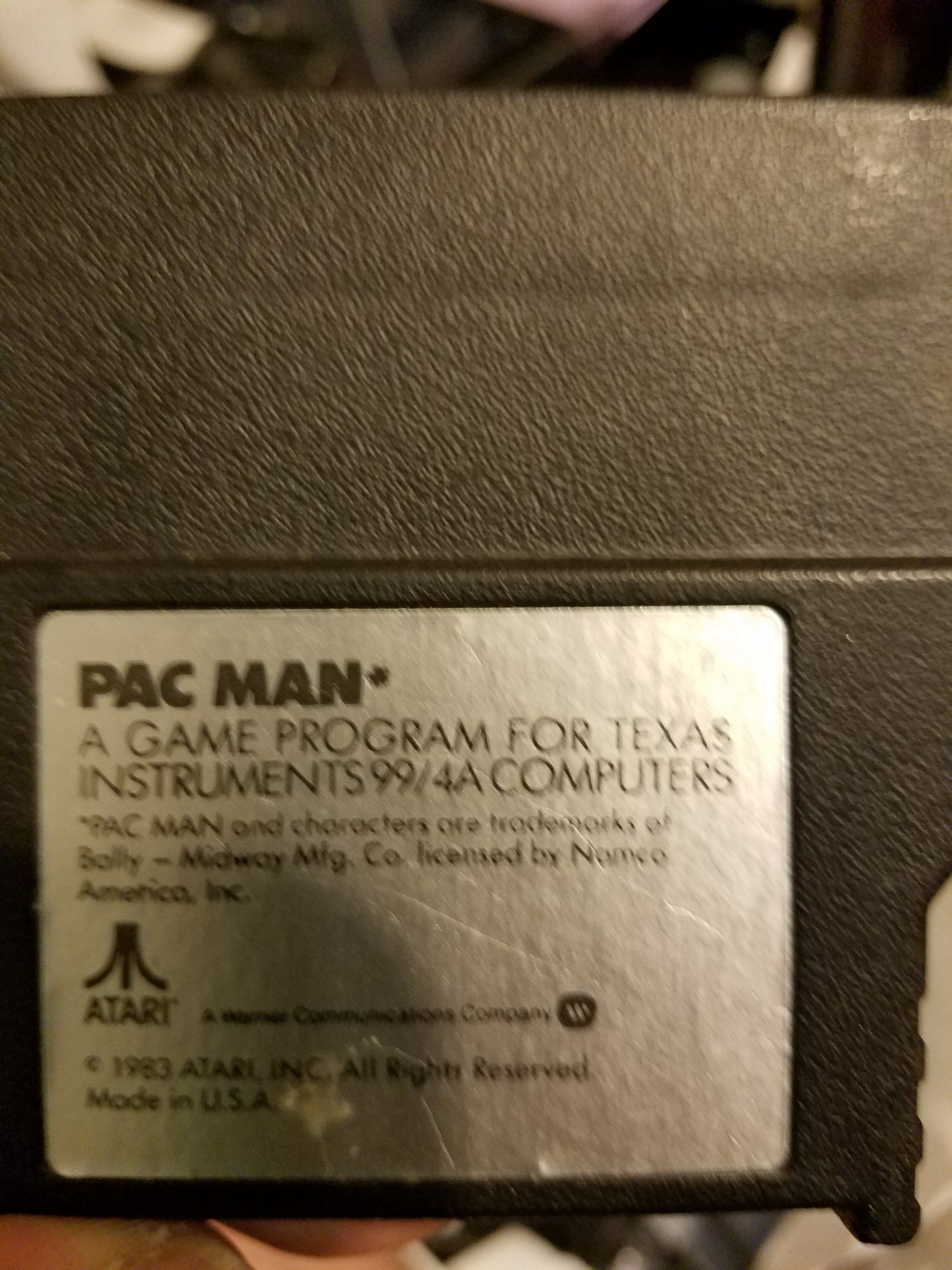 Pac Man - Texas Instruments TI-99 cover