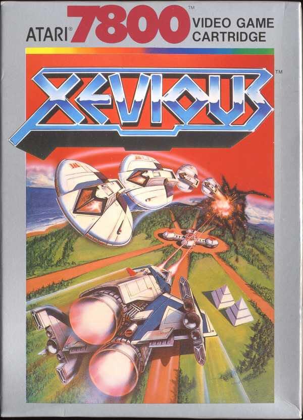 Xevious - Atari 7800 cover