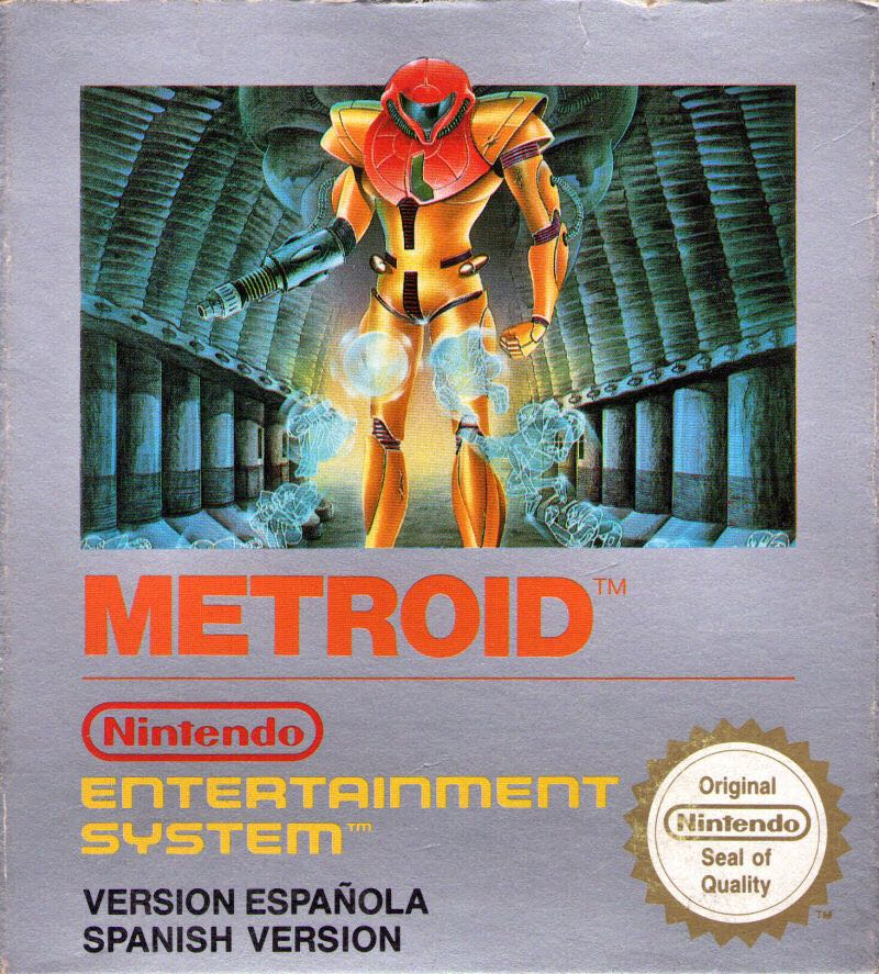 Metroid - 3DS cover