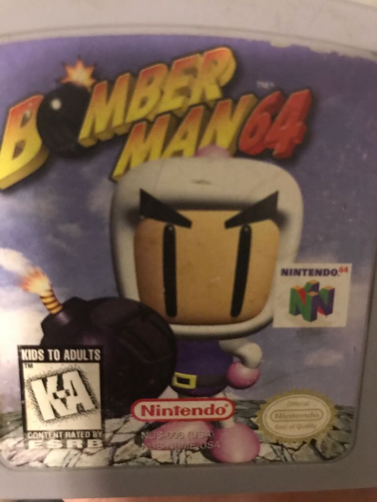 Bomberman - Nintendo 64 cover