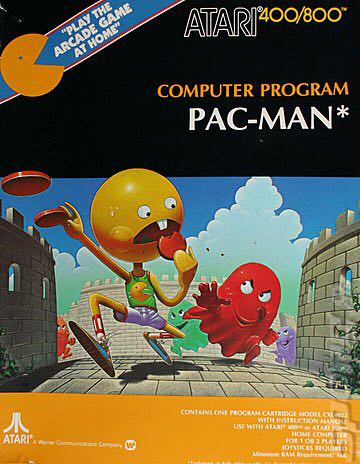 Pac-Man - Atari 800 cover