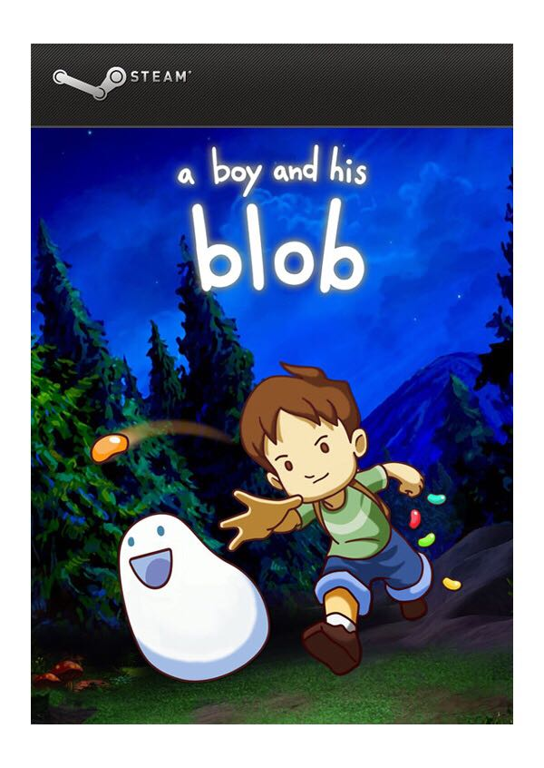 A Boy And His Blob - Steam cover