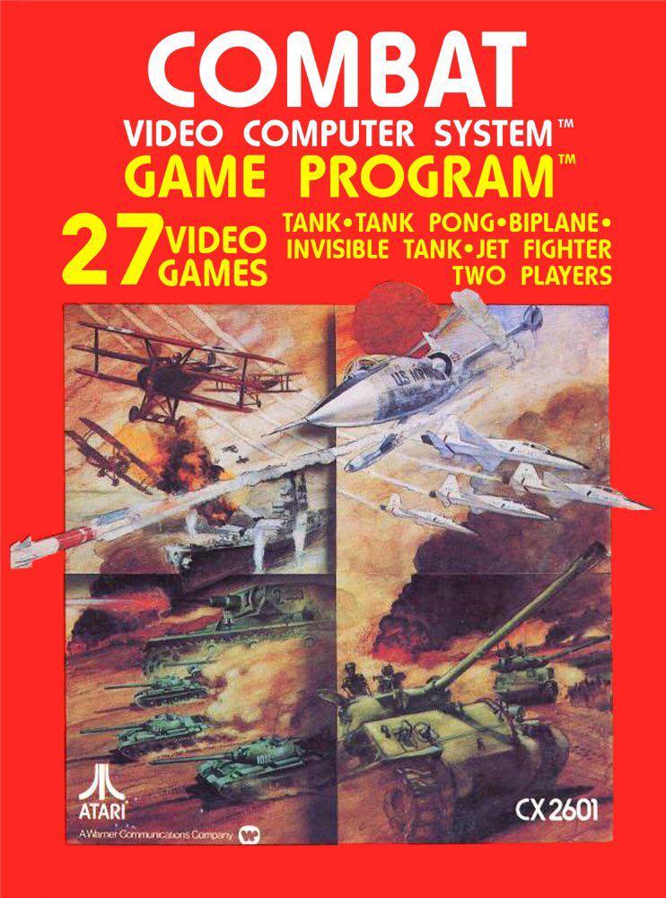 Combat (W/ Manual) - Atari 2600 cover