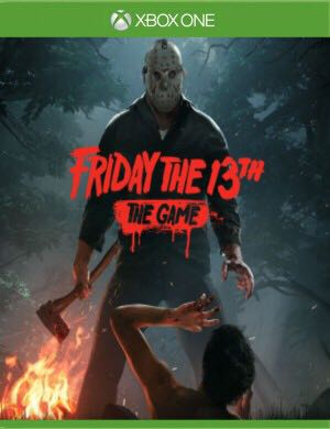 Friday The 13th - Xbox One cover
