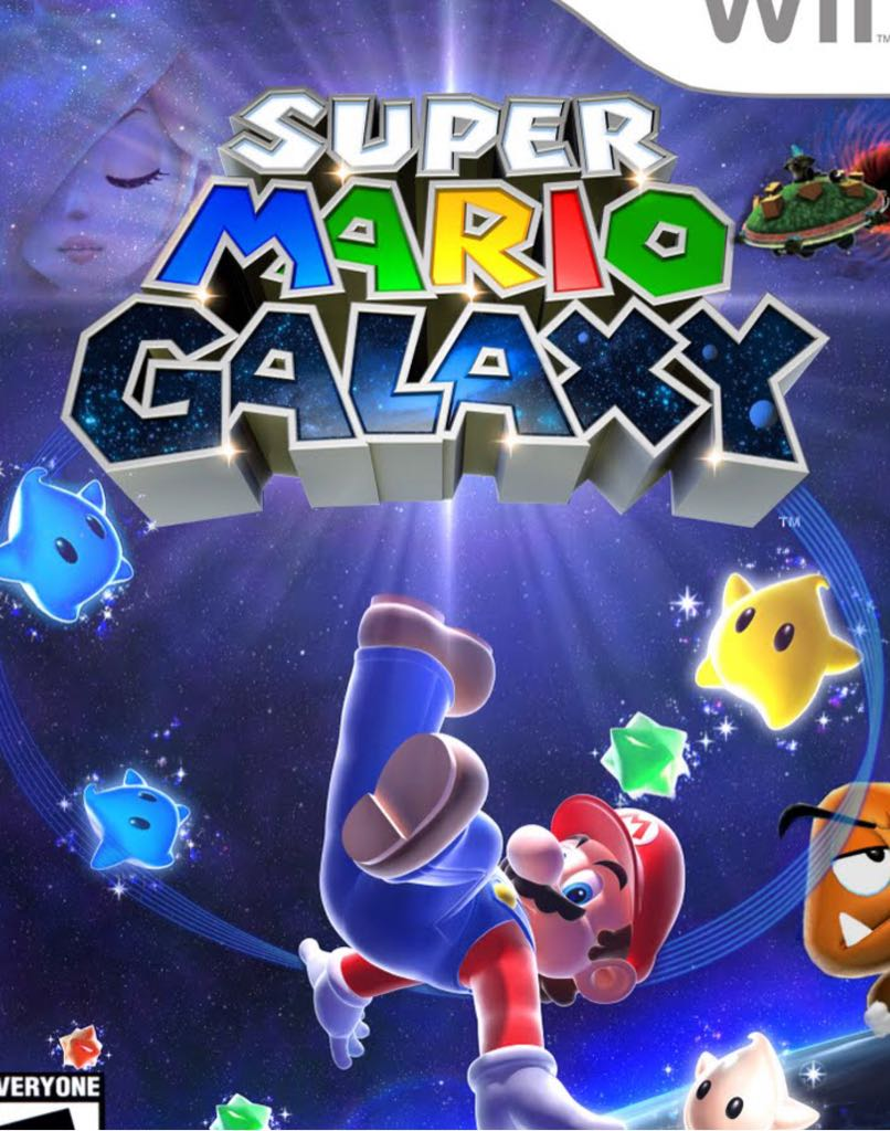 Super Mario Galaxy - Wii U cover