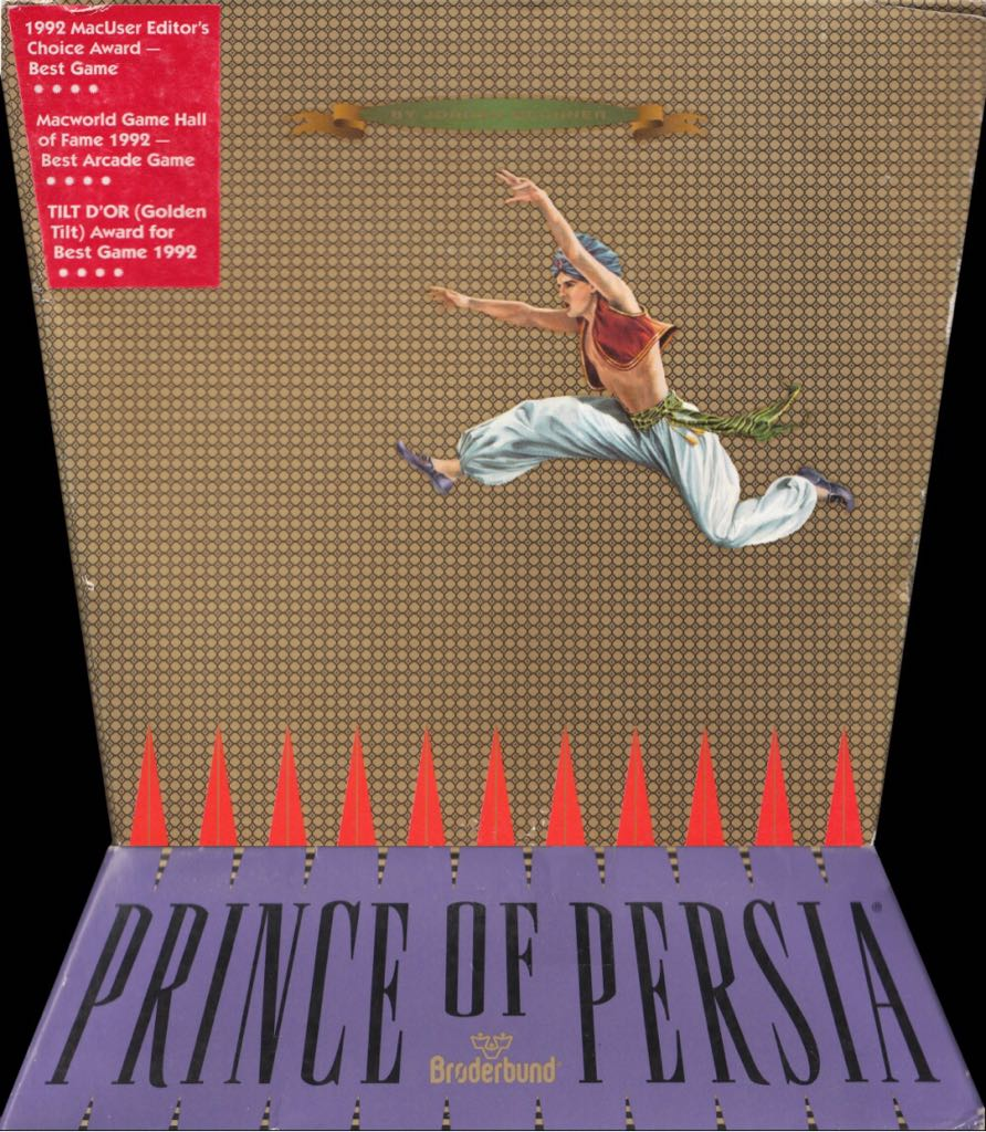 Prince of Persia - Mac OS cover