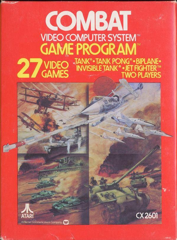 Combat - Atari 7800 cover