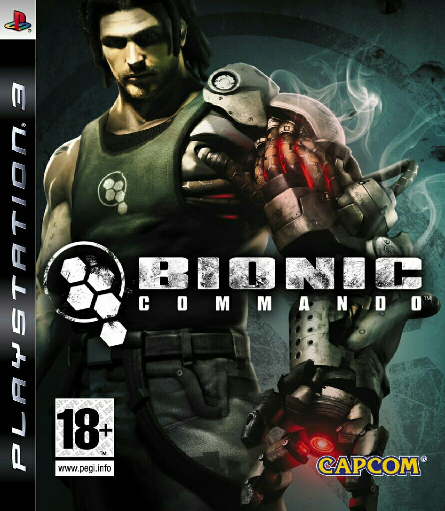 Bionic Commando - PS3 cover