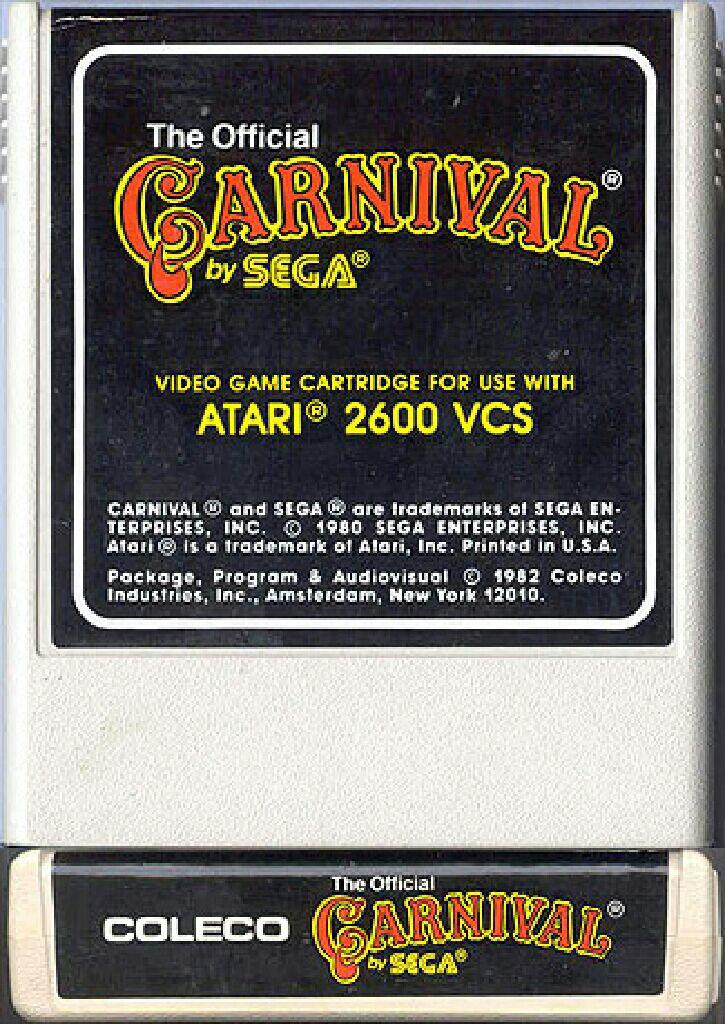 Carnival - Atari 2600 cover