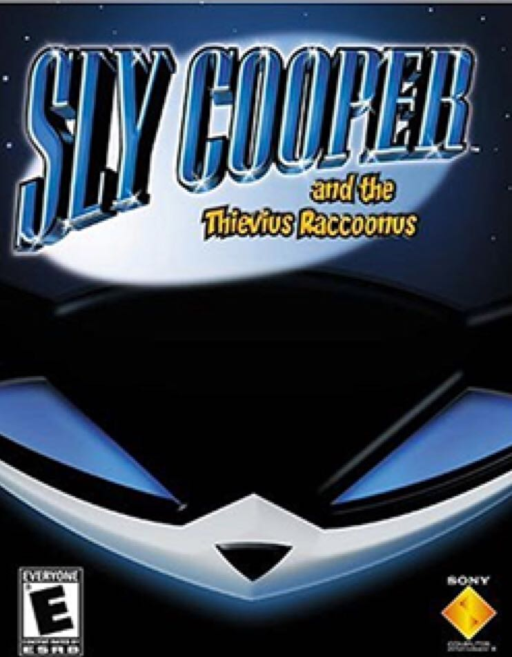 Sly Cooper and the Thievius Raccoonus - PS Vita cover
