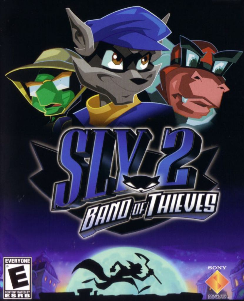 Sly 2: Band of Thieves - PS Vita cover
