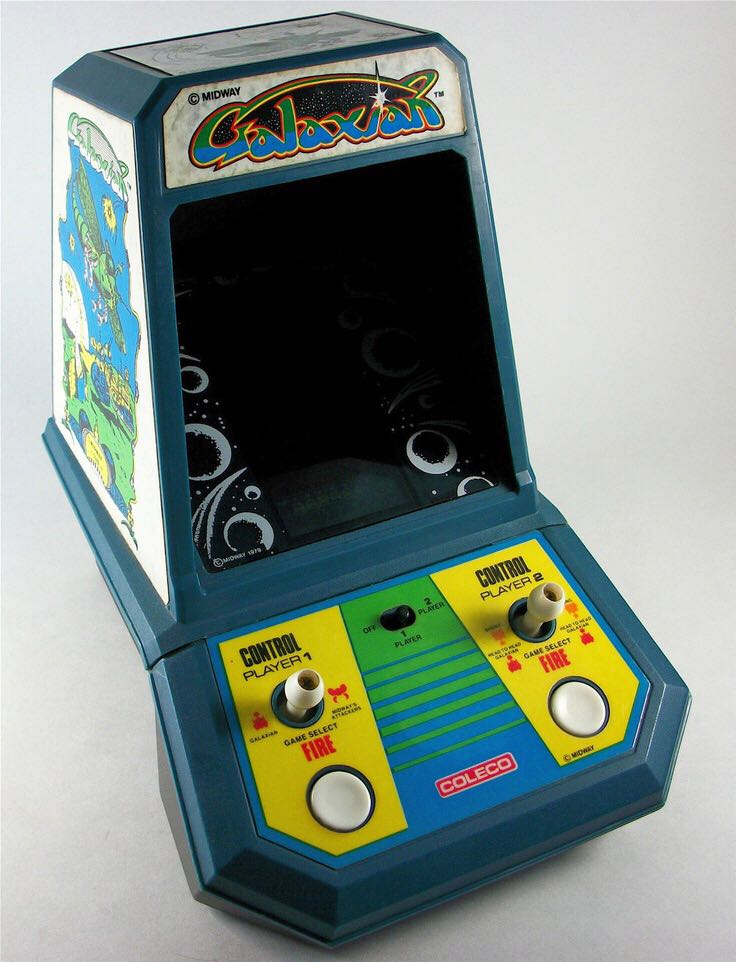 Galaxian - LCD Handheld Game cover