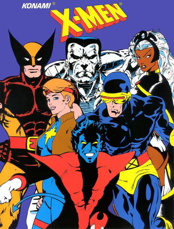 X-Men Arcade - Xbox 360 cover