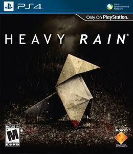 Heavy Rain - PS4 cover