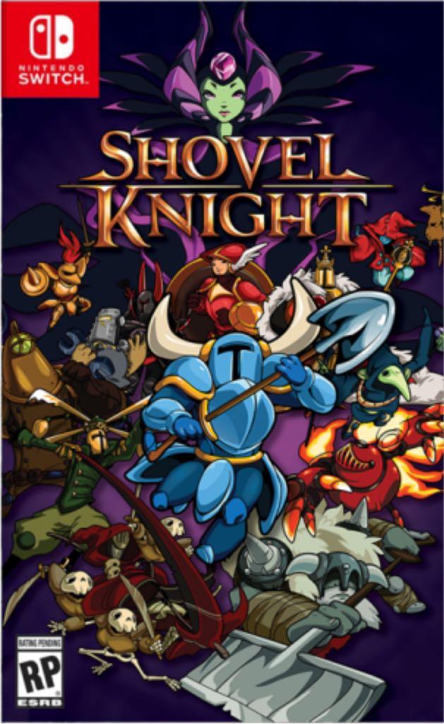 Shovel Knight - Switch eShop cover