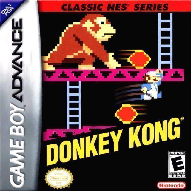 Donkey Kong - Game Boy Advance cover