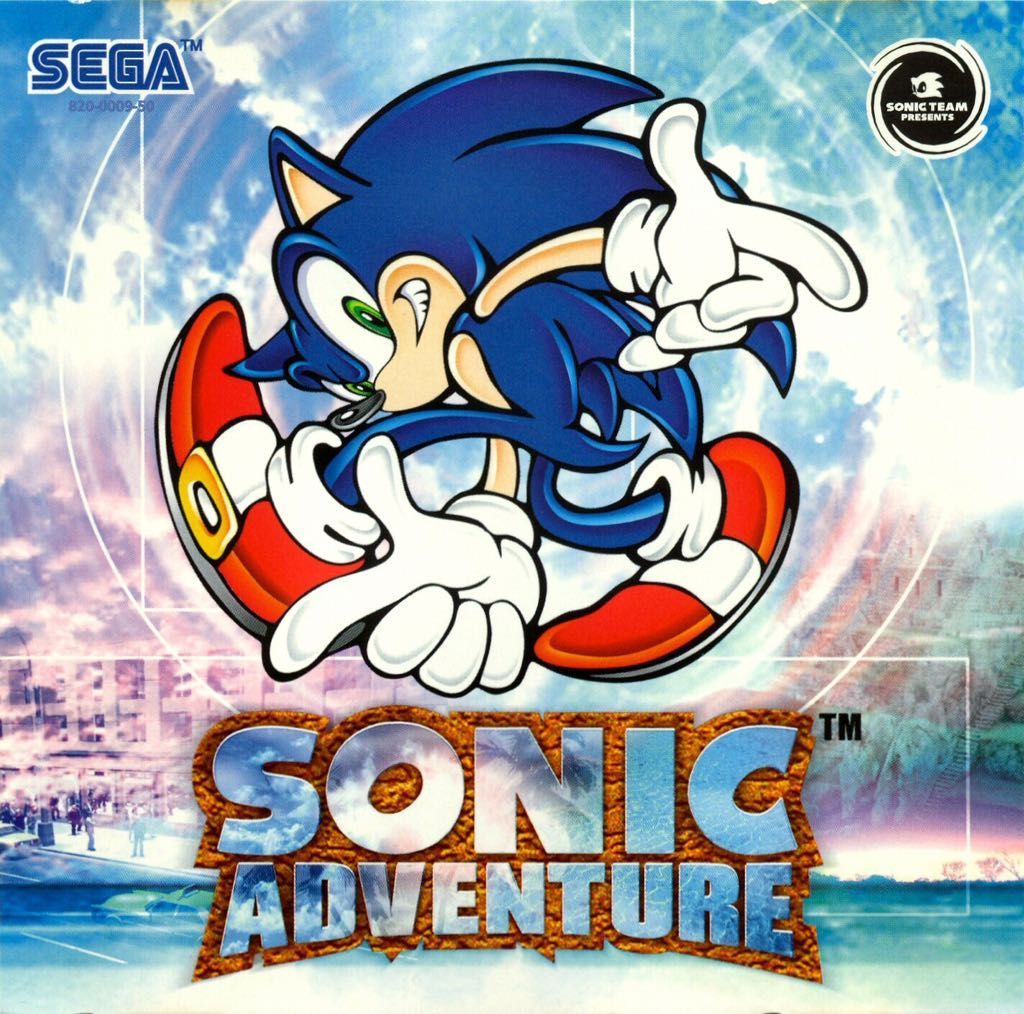 Sonic Adventure - Xbox One cover