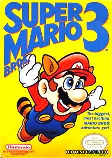 Super Mario Bros. 3 - 3DS Virtual Console cover