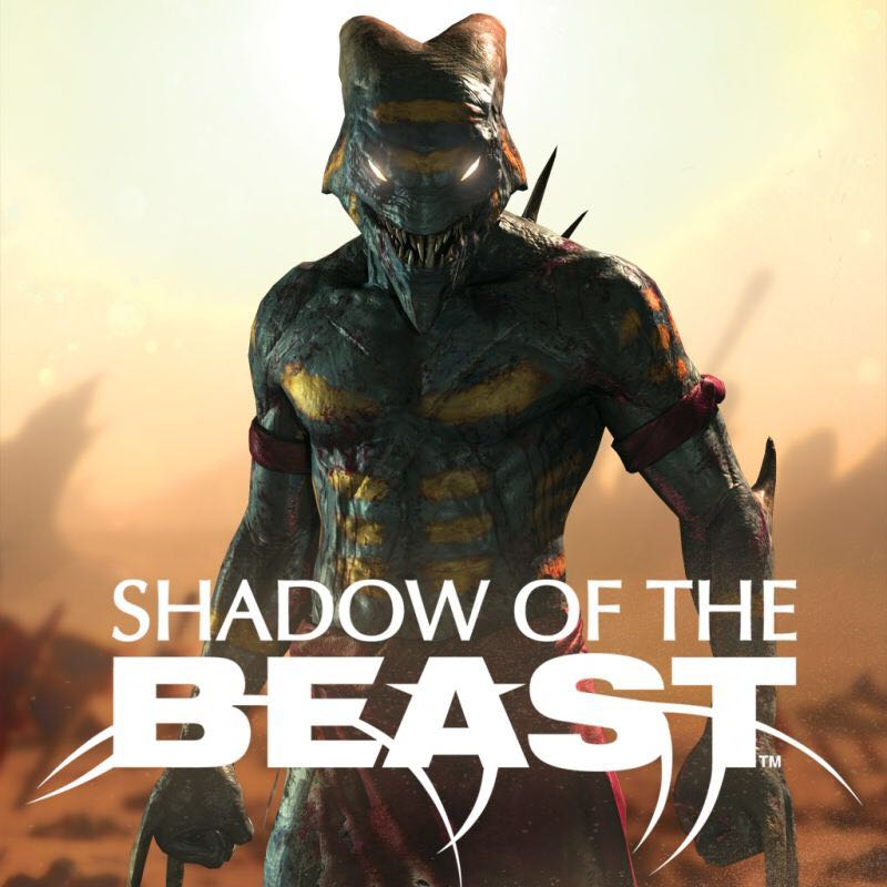 Shadow of the Beast - PS4 cover