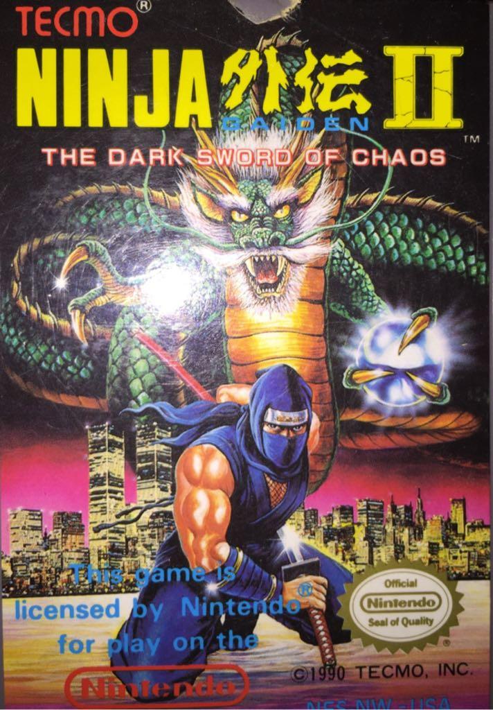 Ninja Gaiden 2 - NES Classic Edition cover