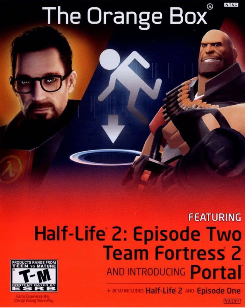 Half-Life 2: The Orange Box - Xbox One cover