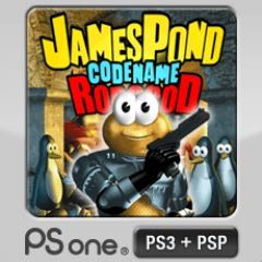 James Pond II Codename: Robocod - PS3 cover