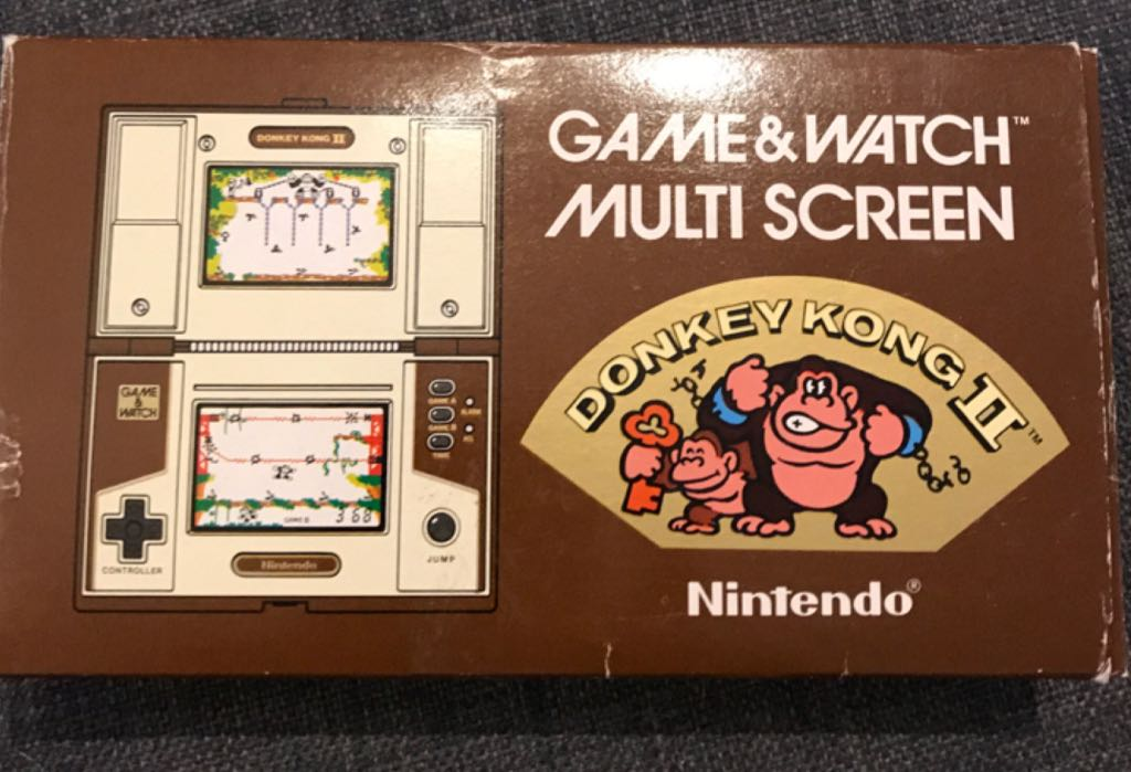 Donkey Kong 2 - Game and Watch cover