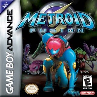Metroid Fusion - 3DS Virtual Console cover
