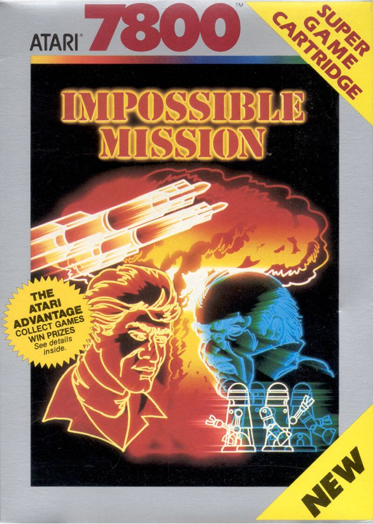 Mission Impossible - Atari 7800 cover