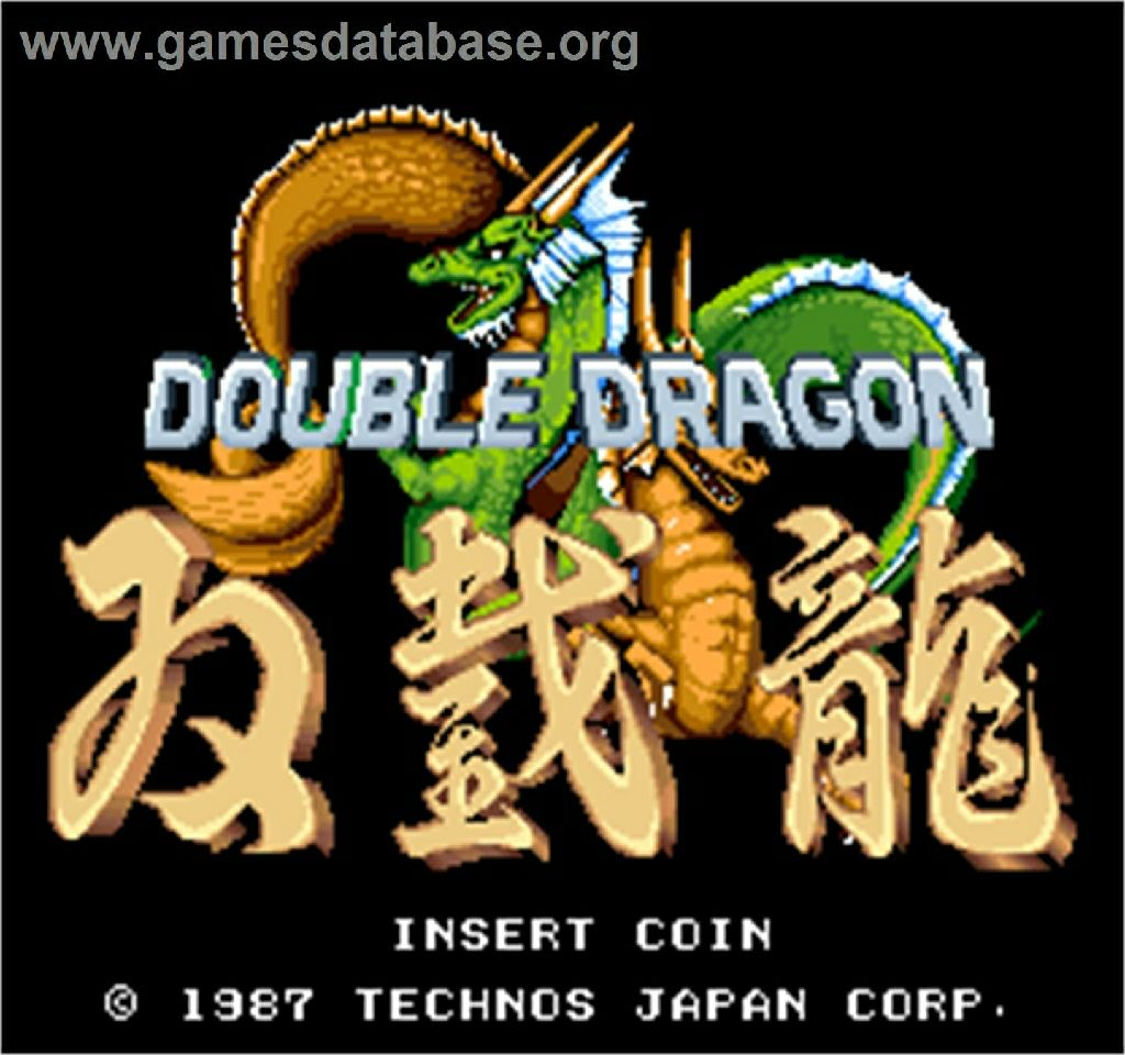 Double Dragon - Switch eShop cover