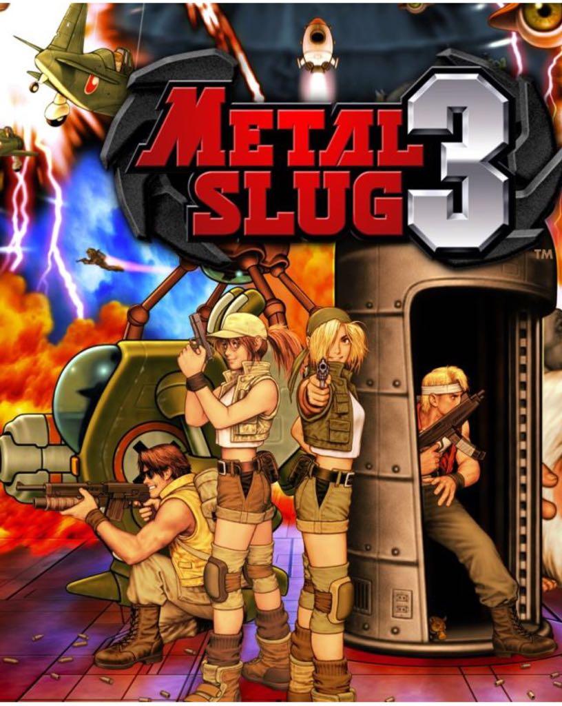 Metal Slug 3 - Switch eShop cover