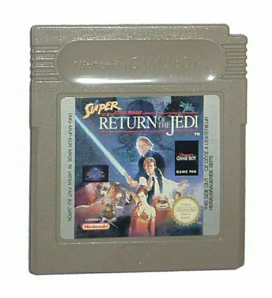 Super Star Wars - Game Boy cover