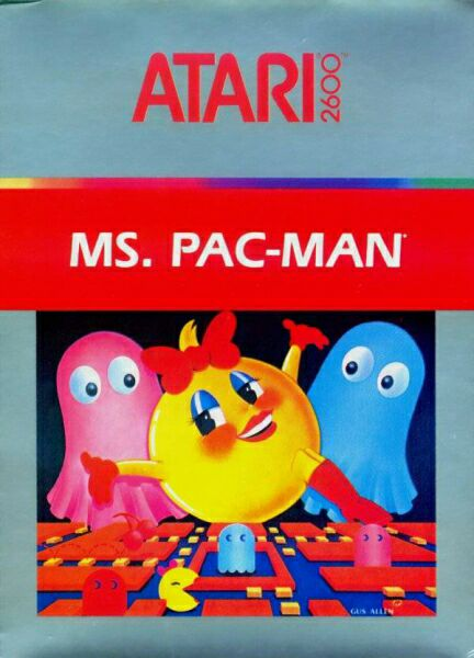 Ms. Pac-Man - Atari 2600 cover