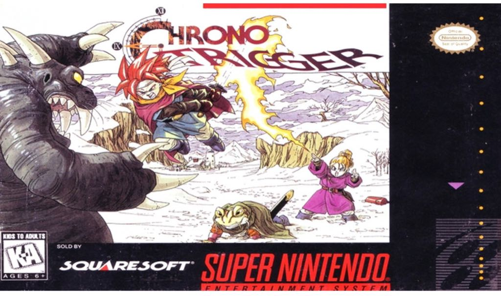 Chrono Trigger - Wii Virtual Console cover