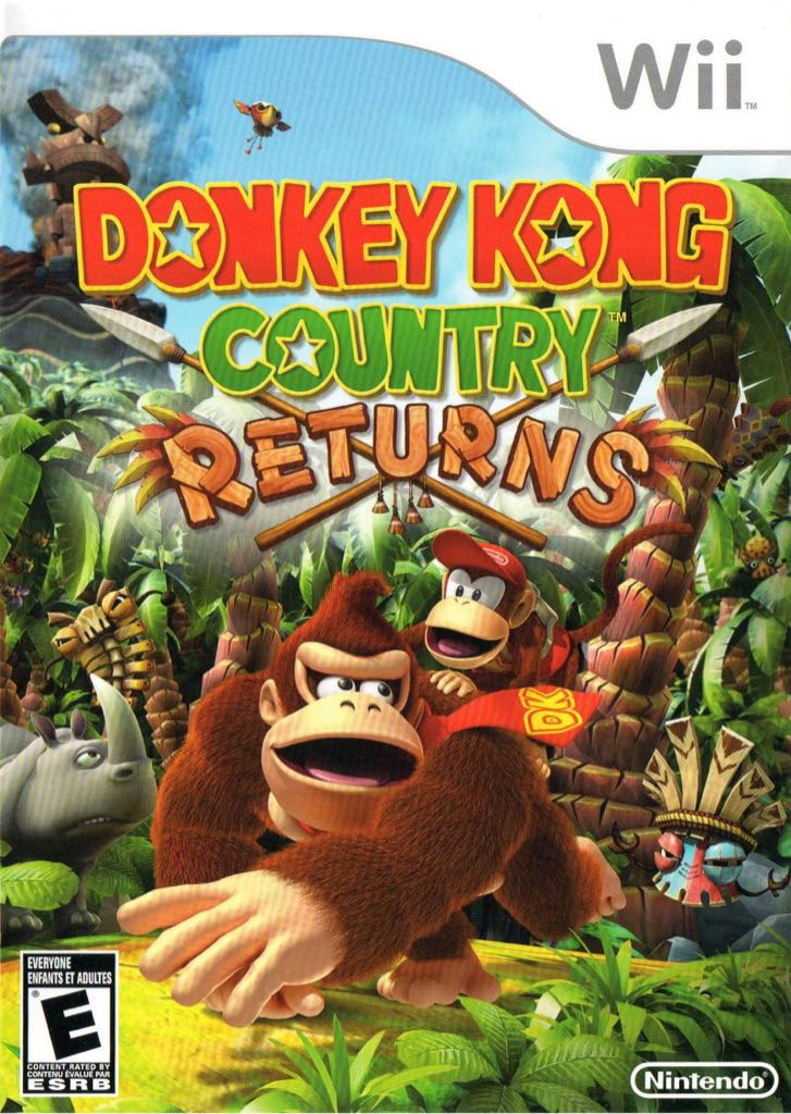 ⛔️ Donkey Kong - 3DS Virtual Console cover