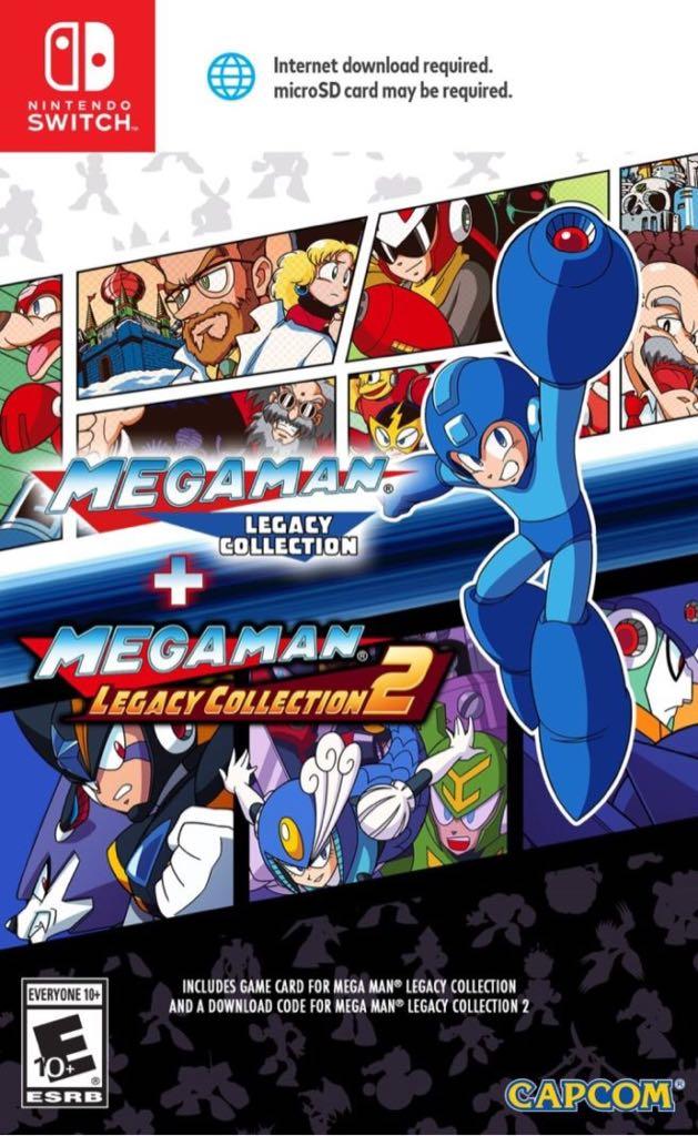 Mega Man 3 - Switch eShop cover