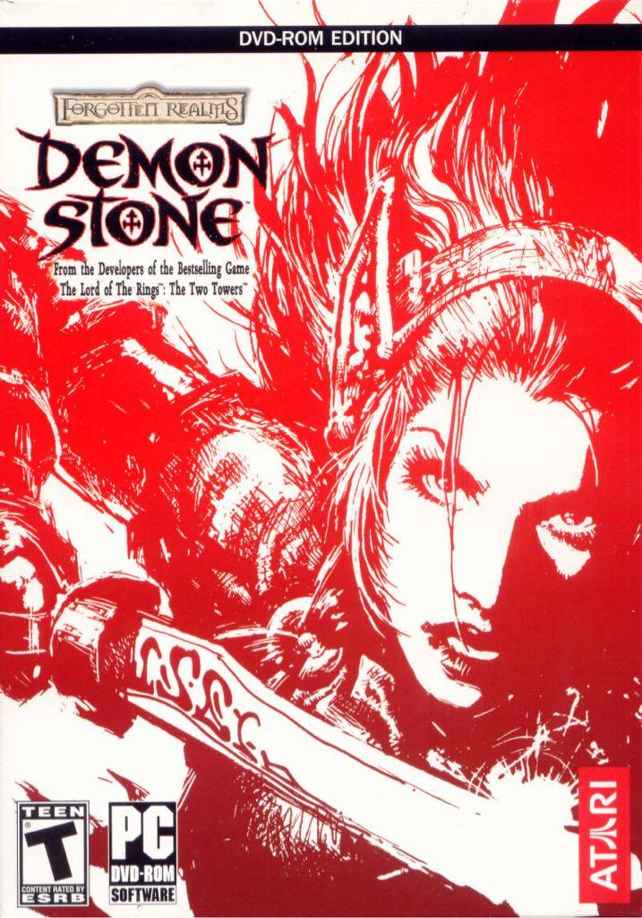 Forgotten Realms Demon Stone - GOG cover