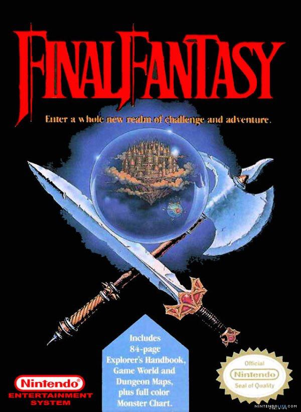 Final Fantasy - NES Classic Edition cover