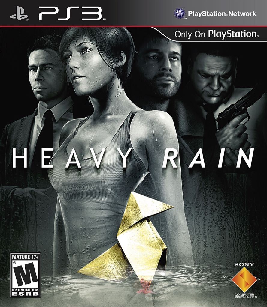 Heavy Rain - Playstation Network cover