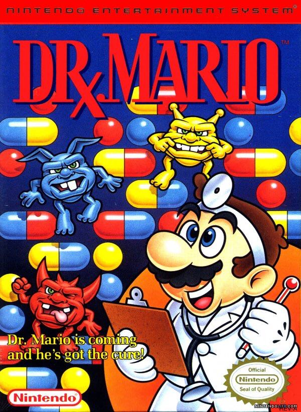 Dr. Mario - NES Classic Edition cover