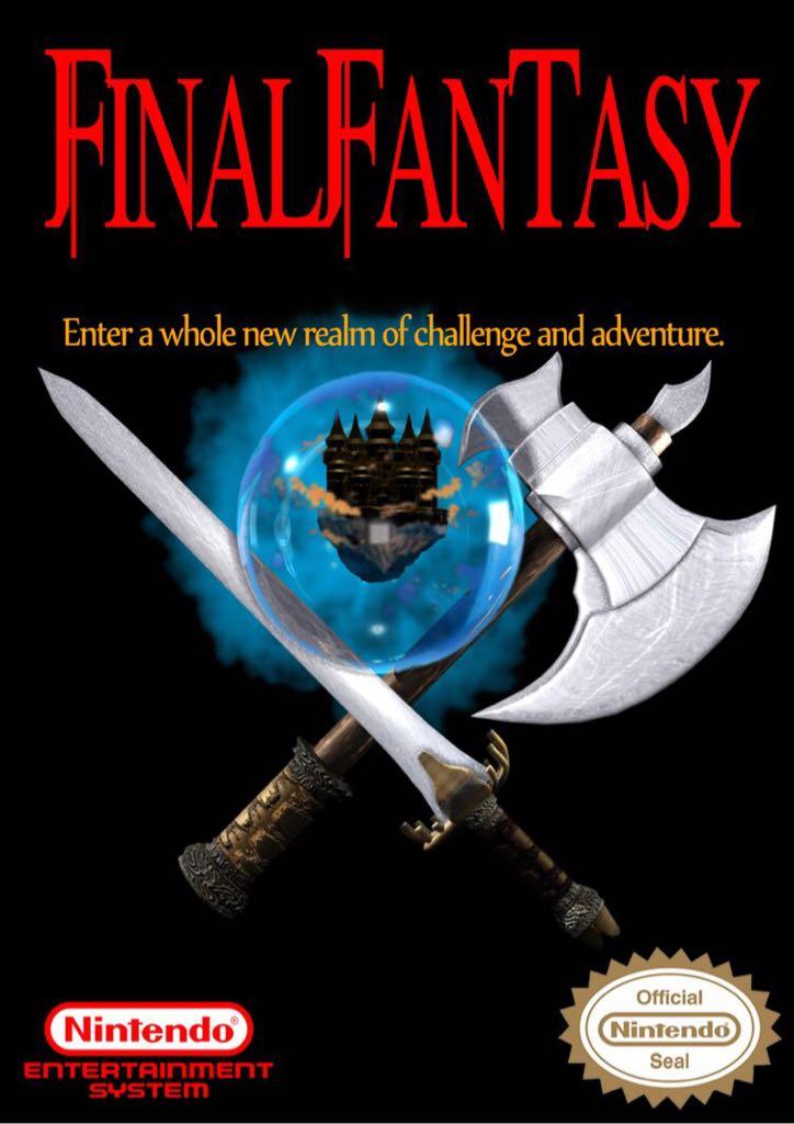 Final Fantasy - NES Classic Edition cover
